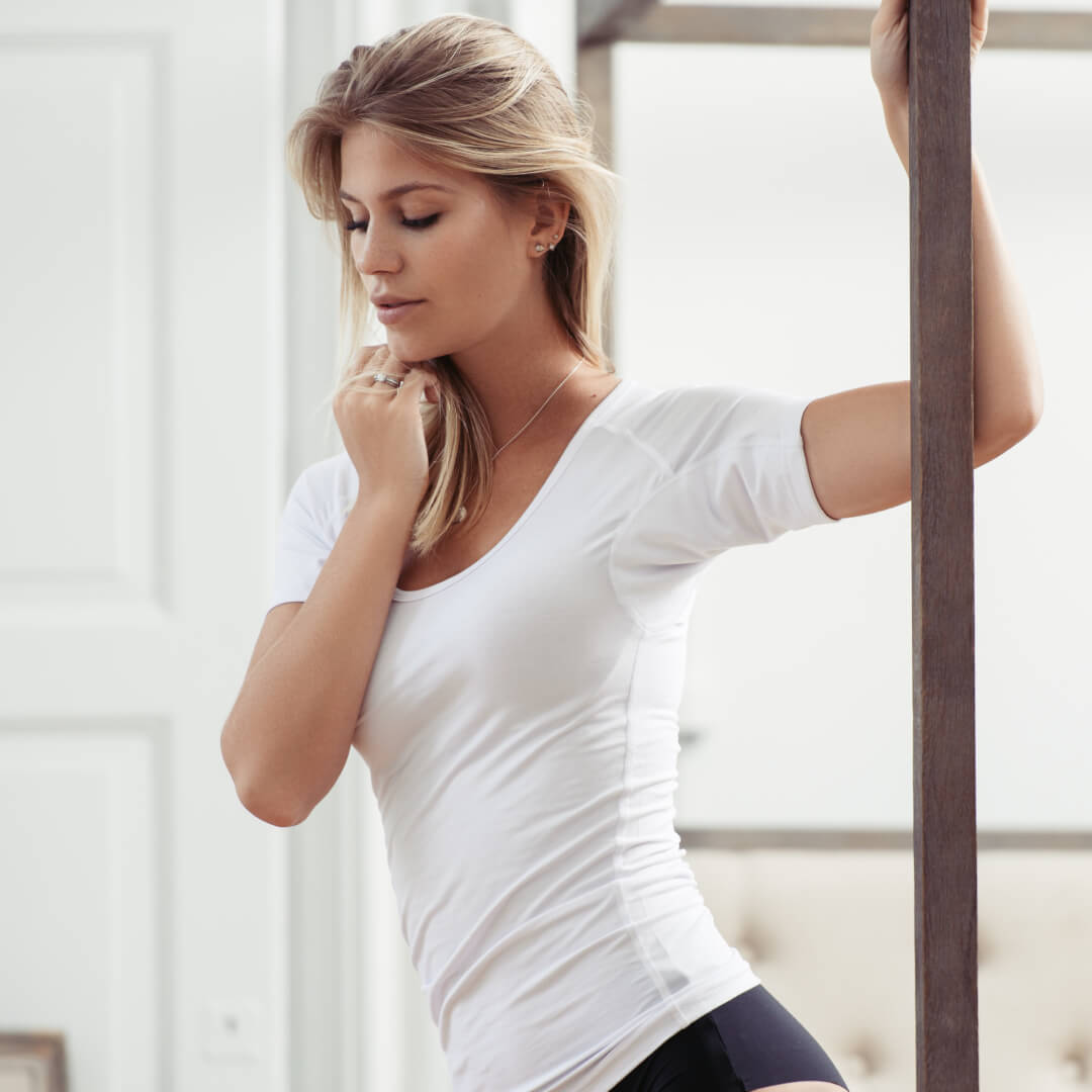Drywear anti sved t shirt Undgå sved under armene